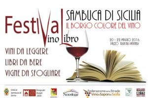 Locandina Festival del Vino Libro