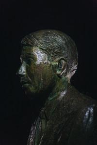 Il busto di Ettore Majorana a Passopisciaro